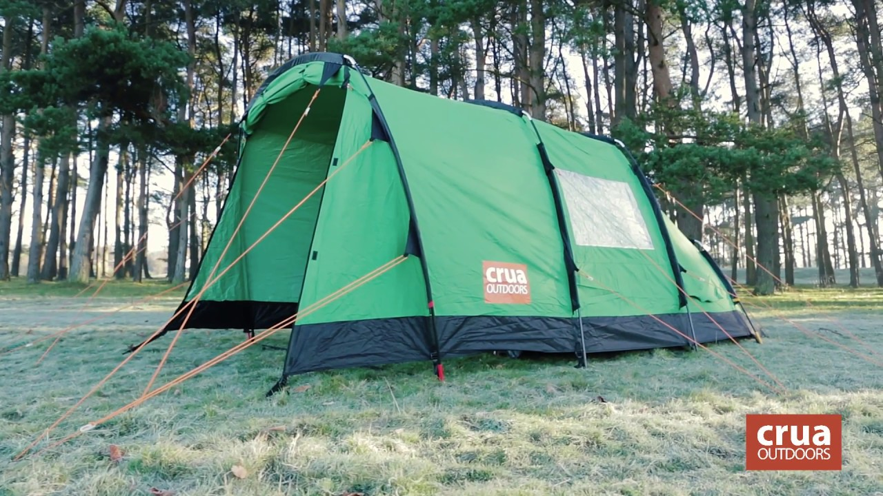 All Weather 3 Person Breathable Insulated Tent Crua Tri