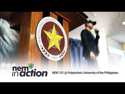 NEM in Action: NEM 101 @ Polytechnic University of the Philippines