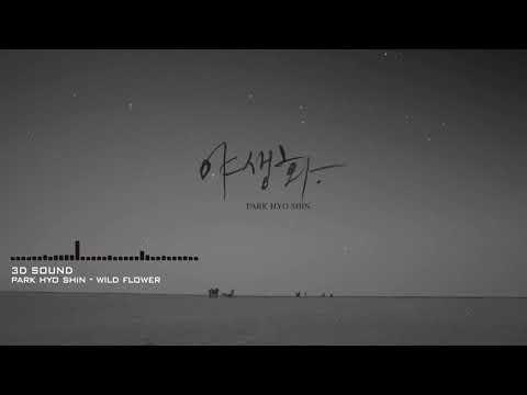 [3D Sound L/R] Park Hyo Shin (박효신) - Wild Flower ( 야생화)