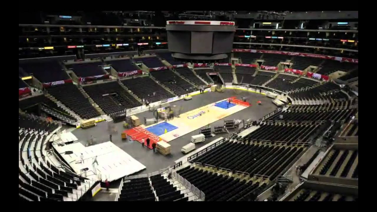 Staples Center Time Lapse Nhl To Nba Official Hd