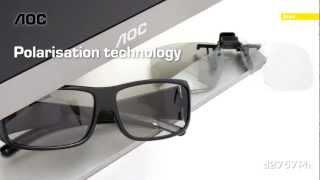 AOC d2757Ph 3D Monitor (English)