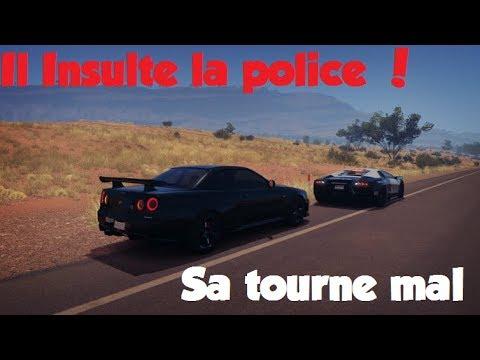 Forza Horizon 3 ROLE PLAY - Un Mec Insulte La POLICE !
