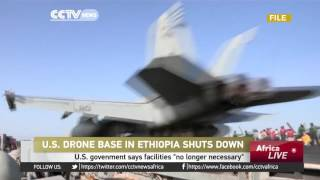 USA shuts down drone base in Ethiopia