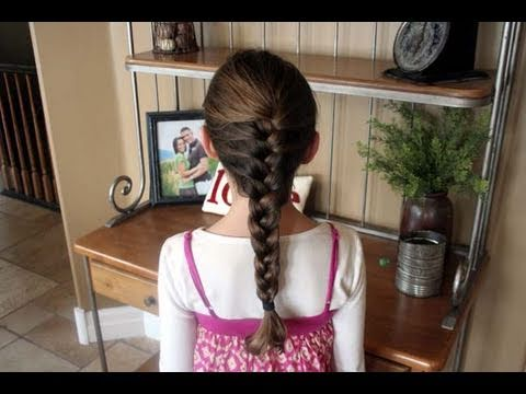 How to French Braid #2 | Braided Hairstyles | Cute Girls Hairstyles thumbnail