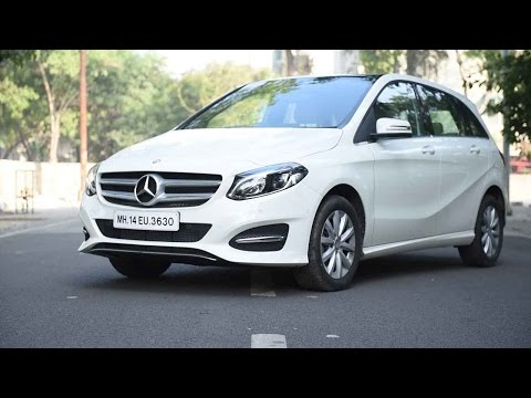 Mercedes B Class Review: The new Mercedes is stylish and aggressive