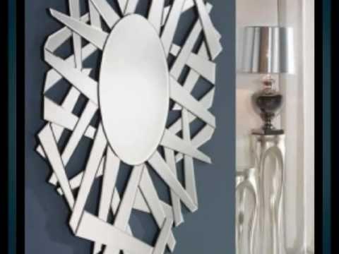 Espejos decorativos modernos novedades youtube for Espejos decorativos