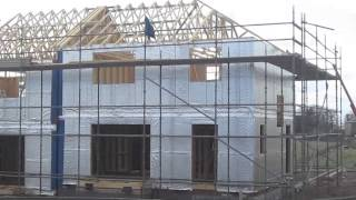 This Video Previously Contained A Copyrighted Audio Track. Due To A Claim By A Copyright Holder, The Audio Track Has Been Muted.     Timber Frame Construction