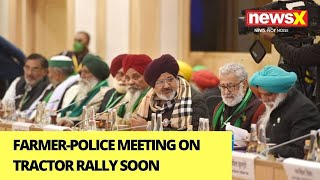 Farmer-Police Meeting On Tractor Rally Soon | NewsX Ground Report | NewsX