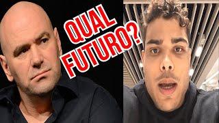 PAULO BORRACHINHA INTIMA DANA WHITE E ADESANYA APÓS POLEMICA DA SARRADA