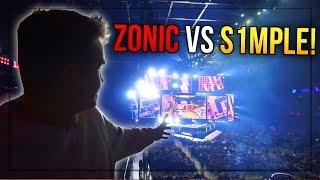ZONIC VS S1MPLE I 1V1?! - Blast Pro Series 2019 VLOG
