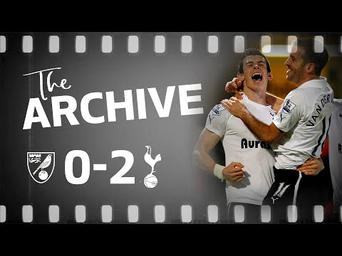 THE ARCHIVE | NORWICH CITY 0-2 SPURS | Bale's brilliant double