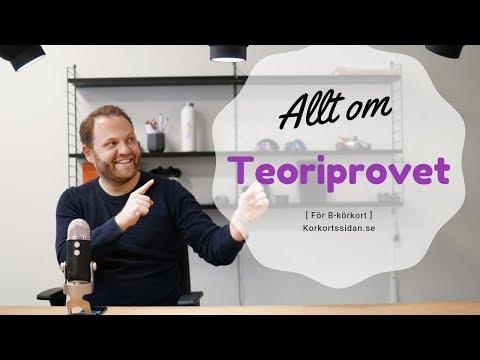 Teoriprov - Allt Om Teoriprovet  - Hur Gör Man?