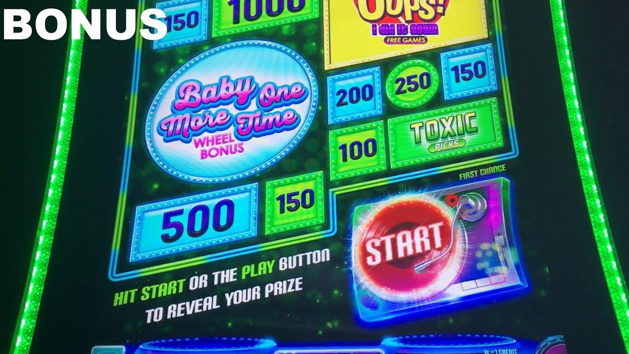 Britney Spears live play max bet with BONUS Slot Machine ...