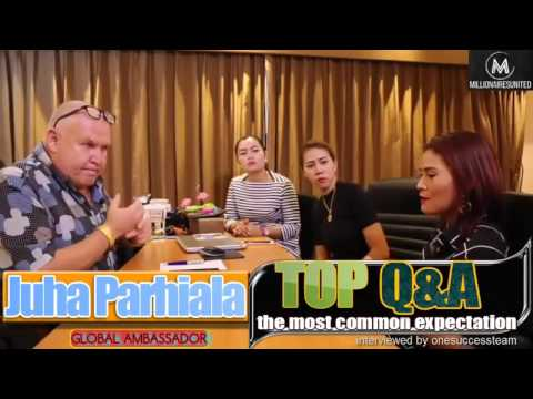 Interview 🏆 Juha Parhiala 🏆 Global Ambassador 🏆 OneLife