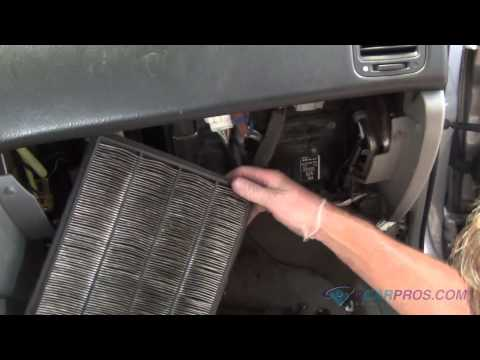 air cabin filter replacement on a 2000 2003 chevrolet. Black Bedroom Furniture Sets. Home Design Ideas