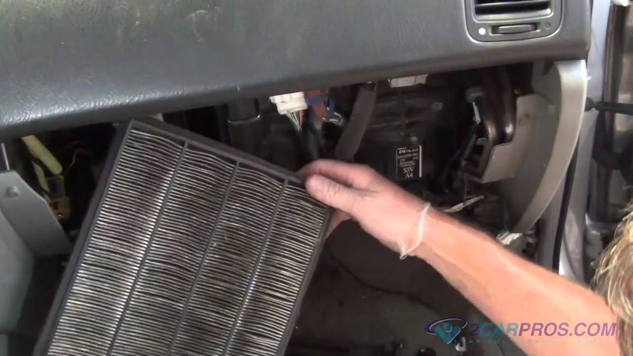 Air Cabin Filter Replacement Acura MDX 2000-2006 - YouTube