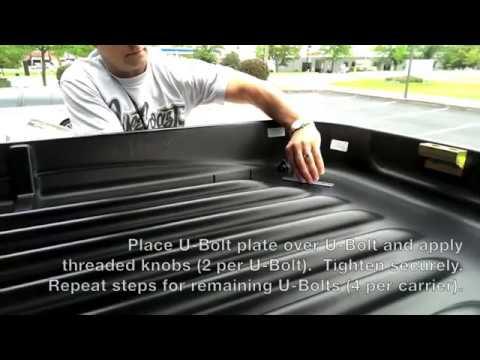 thule cargo box installation instructions