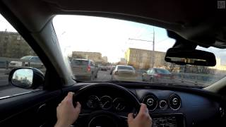 Jaguar XJ L FPV Driving in 4k / Безмолвная поездка в 4k на Ягуаре Икс Джей