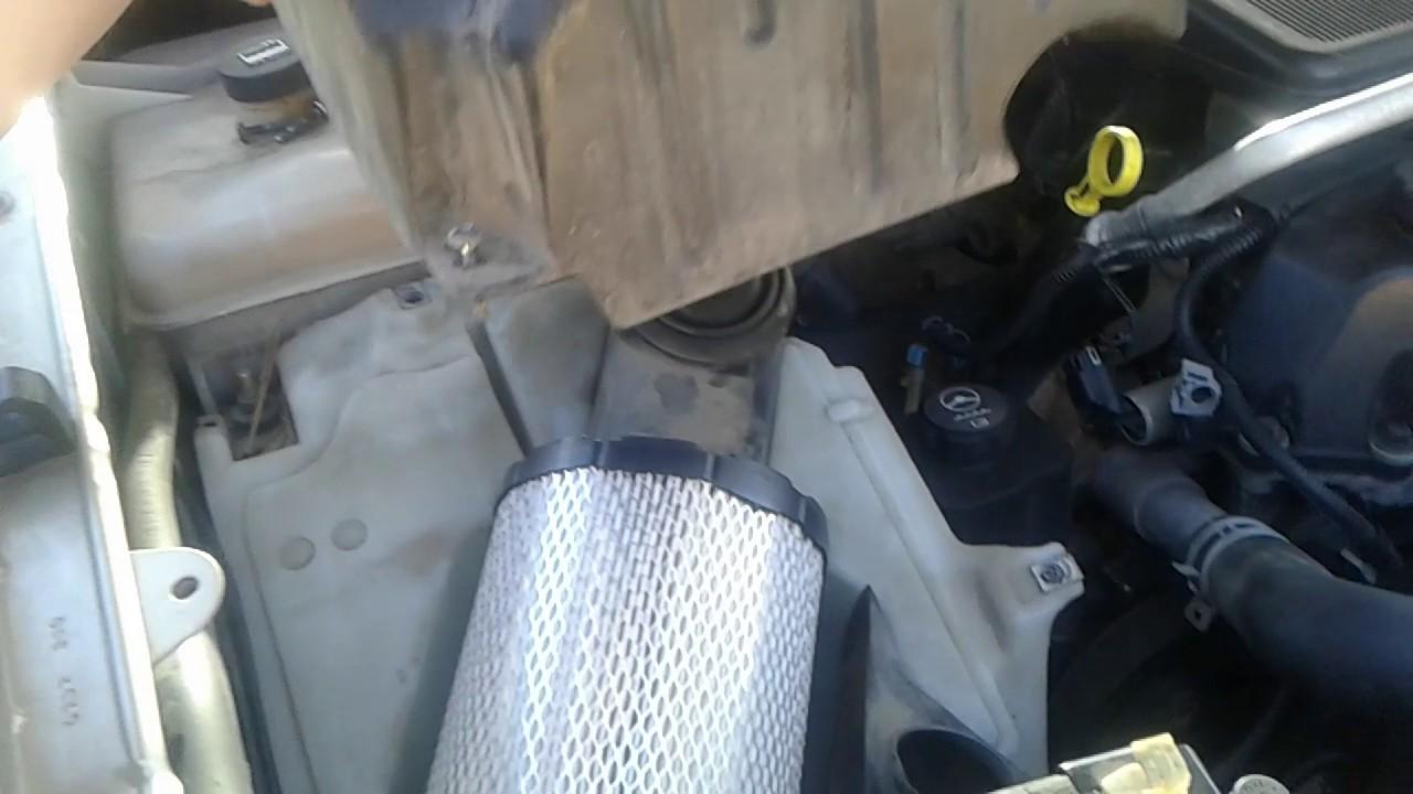 2005 isuzu ascender 4wd air filter replacement [ 1280 x 720 Pixel ]