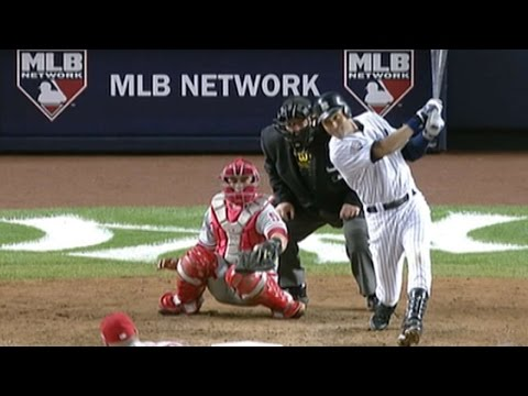 WS2009 Gm6: Jeter gets 50th career World Series hit