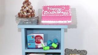 DIY American Girl Doll Cake