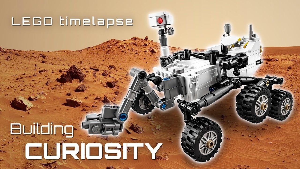 LEGO Building NASA s Curiosity Mars Rover a timelapse