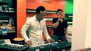 Đàn organ Roland E- A7  Bản Hùng Ca Chim Lạc