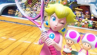 Mario Tennis Aces - All Character Intros
