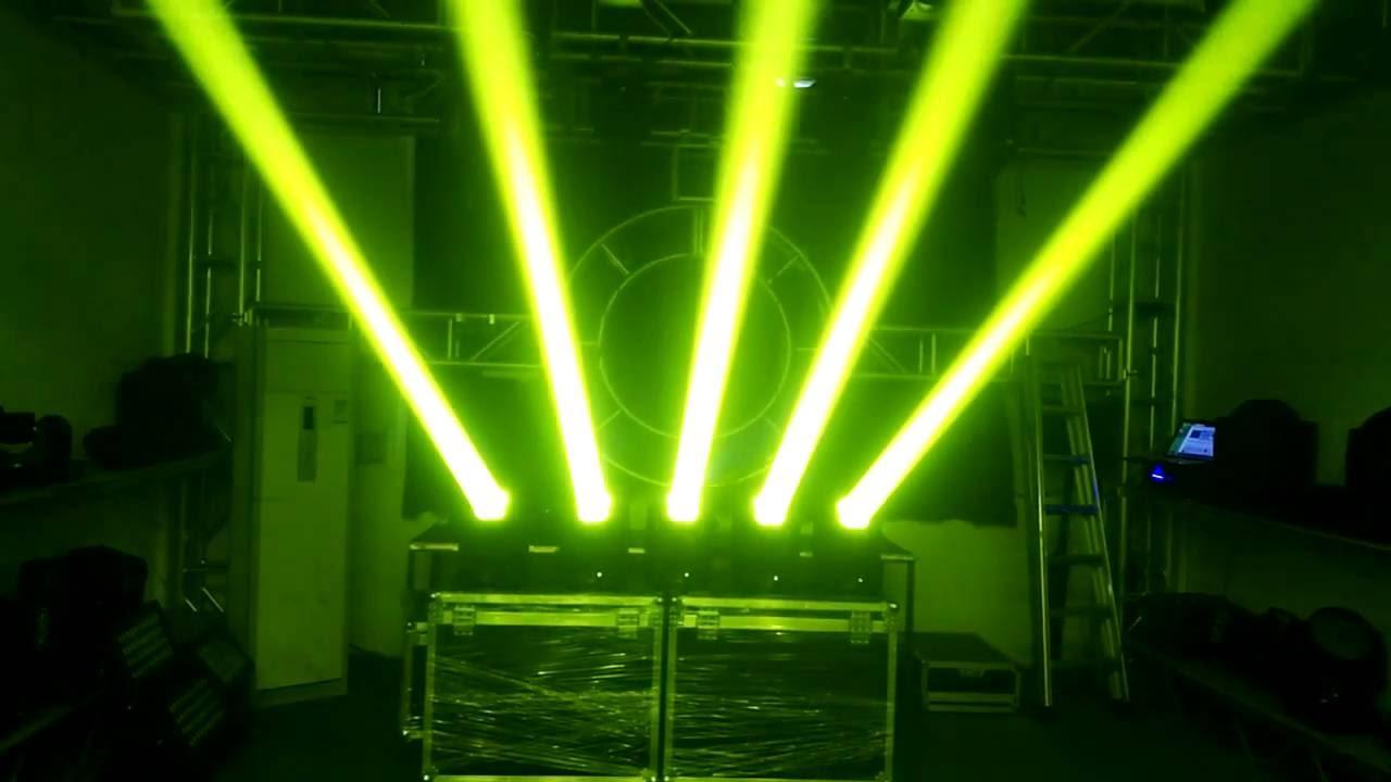 Dj Disco Bar Stage Light 4x25w Rgbw Super Led Beam Moving