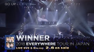 WINNER 2018 EVERYWHERE TOUR IN JAPAN (Trailer2_DVD & Blu-ray 2.6 on sale)
