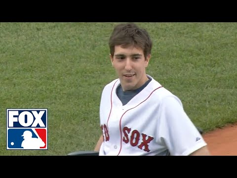 Boston Bombing Survivors Throw Out First Pitch at Fenway Park