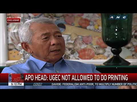 The World Tonight: Yasay claims private firm produces PH passports
