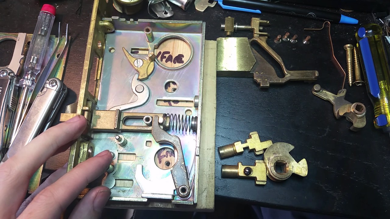 87 Baldwin Estate 6320 Mortise Lock Rebuild Challenge