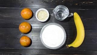 Смузи из хурмы с бананом