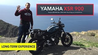 Yamaha XSR 900 after 3.500 miles: Few things you should know