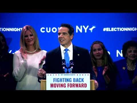 Gov. Andrew Cuomo Wins 3rd Term [Victory Speech]