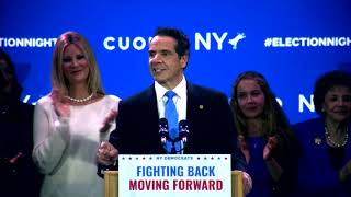 Gov. Andrew Cuomo Wins 3rd Term [Victory Speech]