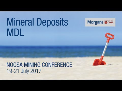 Mineral Deposits: (ASX:MDL): Rob Sennitt, Managing Director