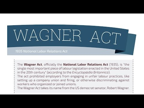 What YOU need to know about the Wagner Act?
