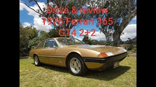 Drive & review Ferrari V12 1976 365 GT4 2+2
