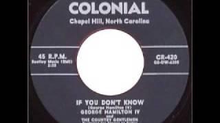 George Hamilton iv - If You Don