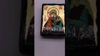 Икона Богородица Взыскание погибших 7*10 см.