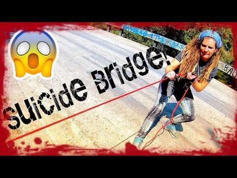 NERVE-RACKING finds MAGNET FISHING at SUICIDE BRIDGE!