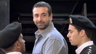 """مسلسل الهروب , مشهد كوميدي """" لما أمك تضرب ضابط امن دولة 😳 """" قنبلة الموسم 😂😂"""