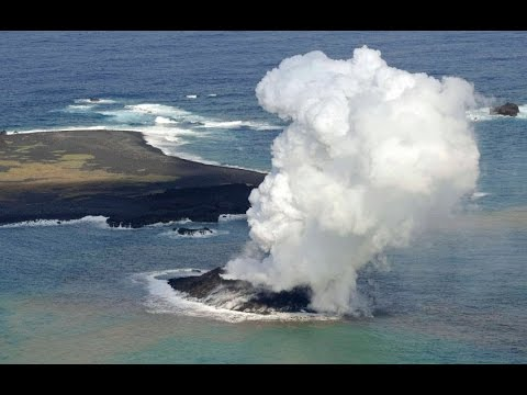 Nishinoshima in Japan | Volcanic Island: Massive Eruptions [JCG video] ‎| ‎#西之島‬