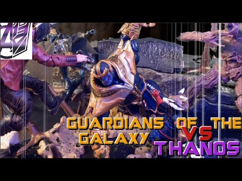 Guardians of the Galaxy Vol3- Guardians vs Thanos (Road to Infinity War)[Stop Motion]