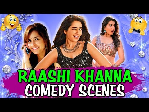 Raashi Khanna Comedy Scenes | South Indian Hindi Dubbed Best Comedy Scenes