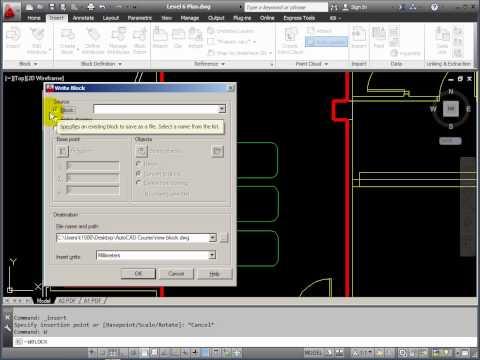 AutoCAD Practice Essentials - part 7 - Creating 'Blocks'