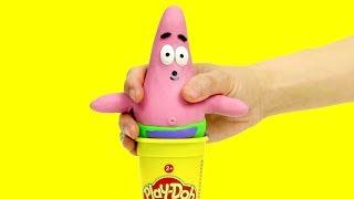 Patrick star dress up costume  boy stop motion compilation