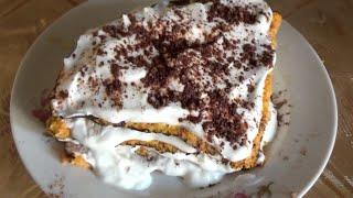 Рецепт. Диетический морковный торт Старбакс по Дюкану